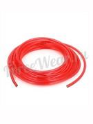 Шланг полиуретановый (красный), Dвнутр=8мм, Dвнеш=12мм.
