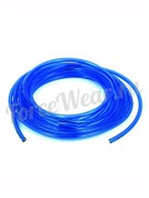 Шланг полиуретановый (синий), Dвнутр=6,5мм, Dвнеш=10мм.