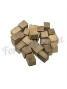 Щепа дубовая «Премиум» кубическая средний обжиг (150 гр.)