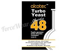 Дрожжи спиртовые 48 Turbo Classic, 130 г Alcotec